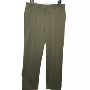 Brooks Brothers Madison Fit Pants Gray Wool 35x32